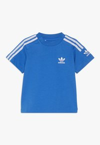 adidas Originals - NEW ICON TEE - T-shirt print - blue/white - 0