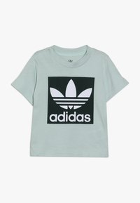 adidas Originals - TREFOIL TEE - T-shirt con stampa - light green - 0