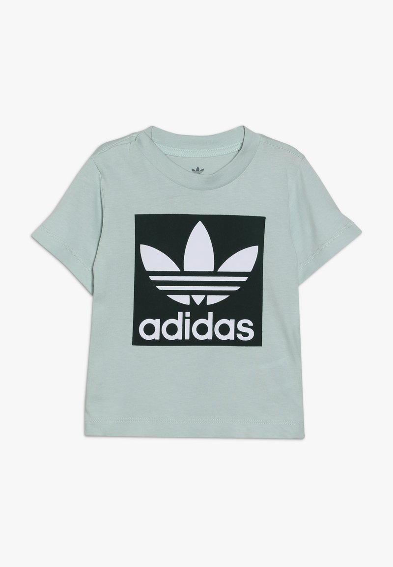 adidas Originals - TREFOIL TEE - T-shirt con stampa - light green
