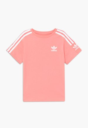 NEW ICON - Print T-shirt - pink/white