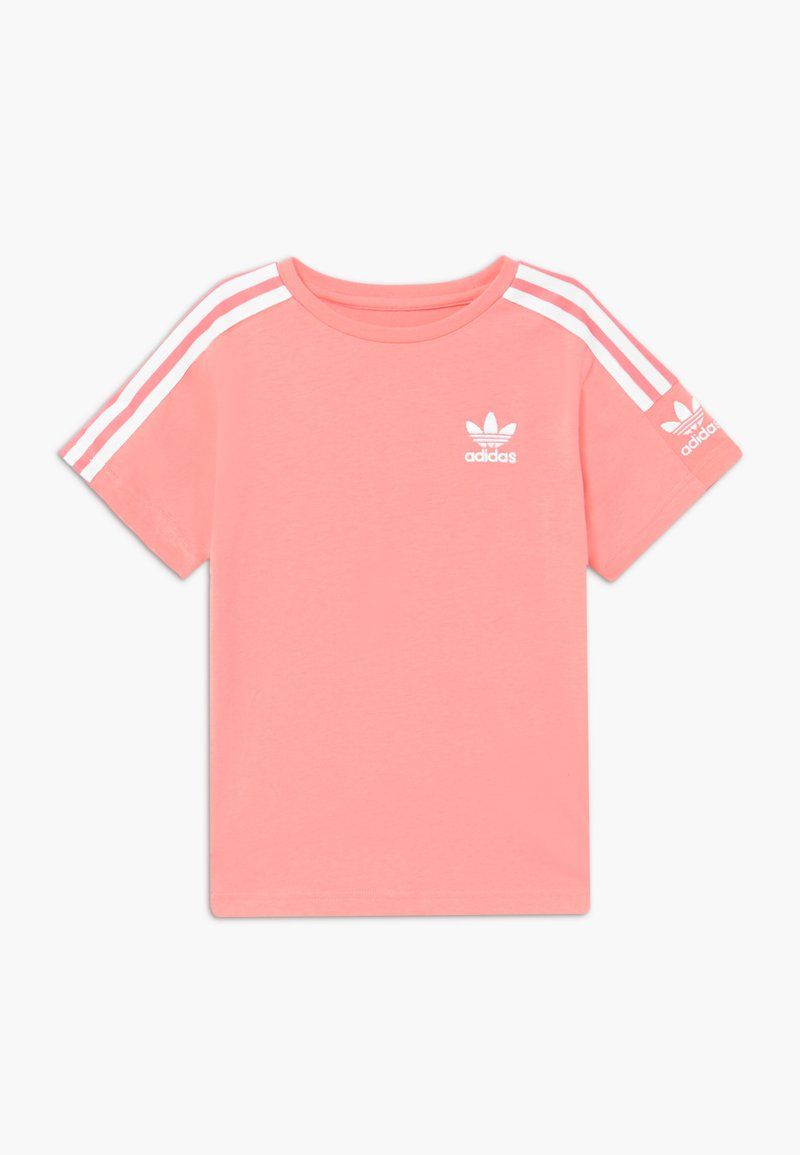 adidas Originals - NEW ICON - Print T-shirt - pink/white
