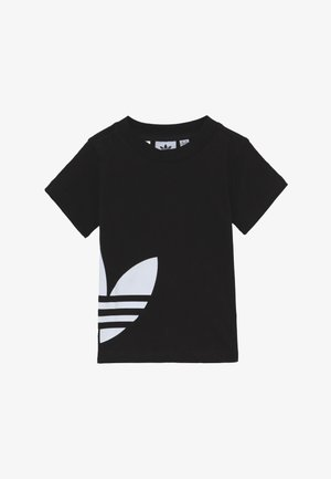 BIG TREFOIL TEE - T-shirts med print - black/white