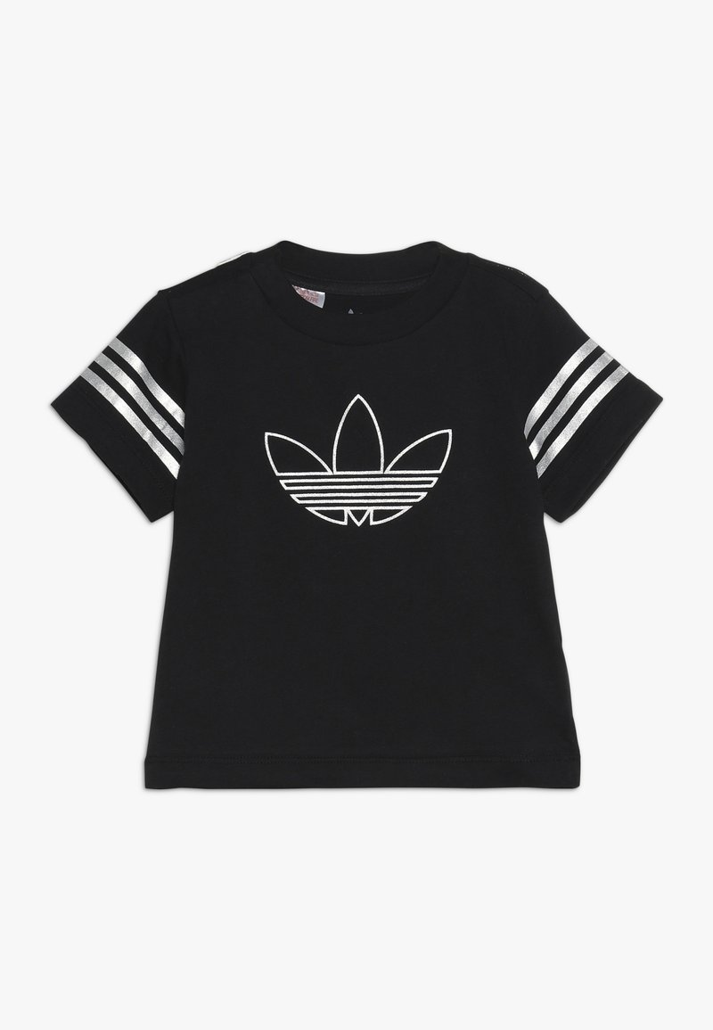 adidas Originals - OUTLINE TEE - T-shirt con stampa - black