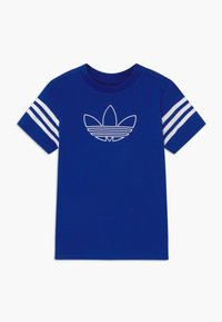 adidas Originals - OUTLINE - T-shirt print - blue/white - 0