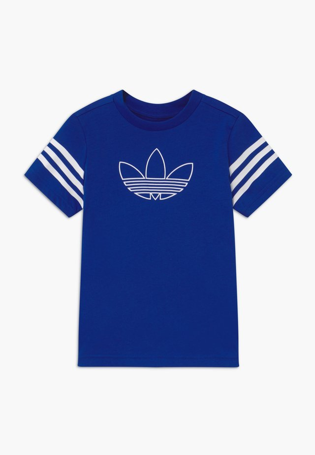 OUTLINE - Camiseta estampada - blue/white