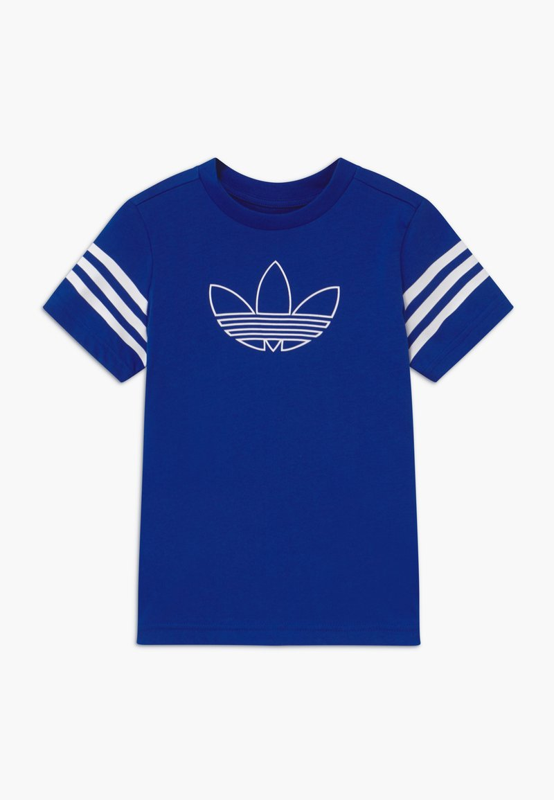 adidas Originals - OUTLINE - T-shirt print - blue/white