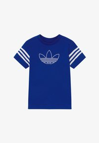 adidas Originals - OUTLINE - T-shirt print - blue/white - 2
