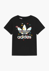 adidas Originals - T-shirts med print - black - 0