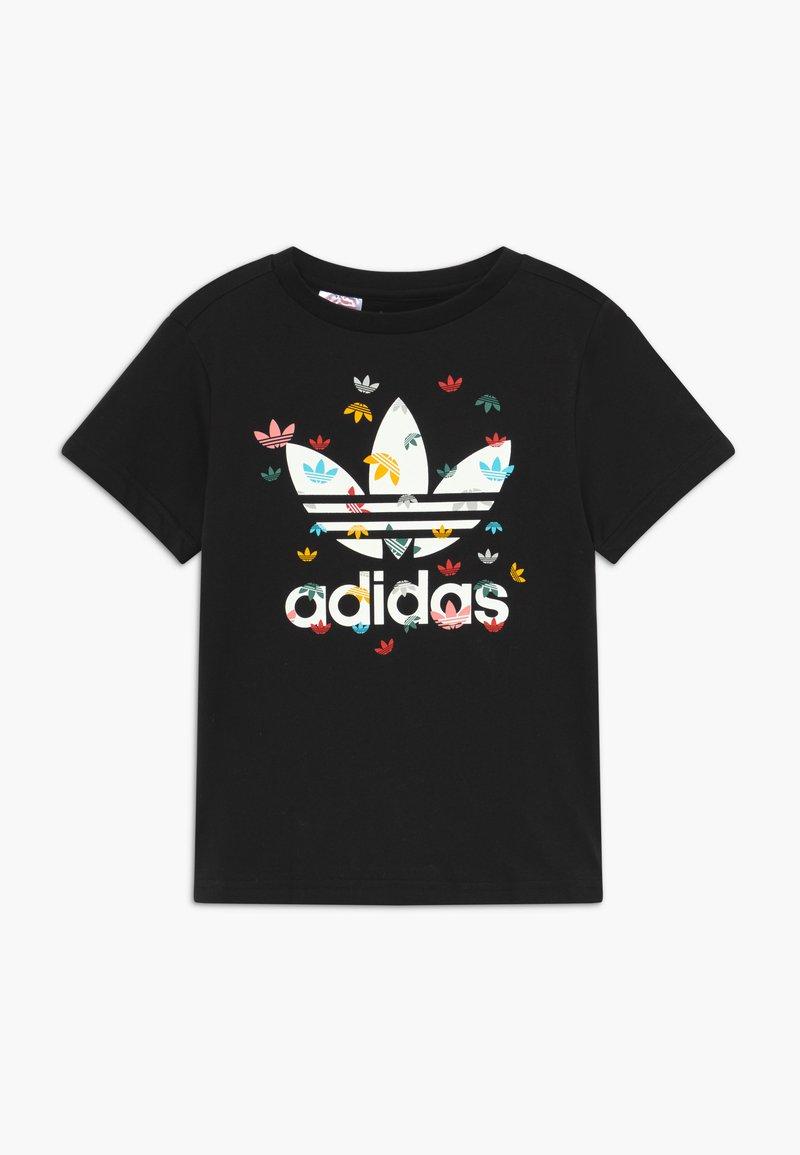 adidas Originals - T-shirts med print - black