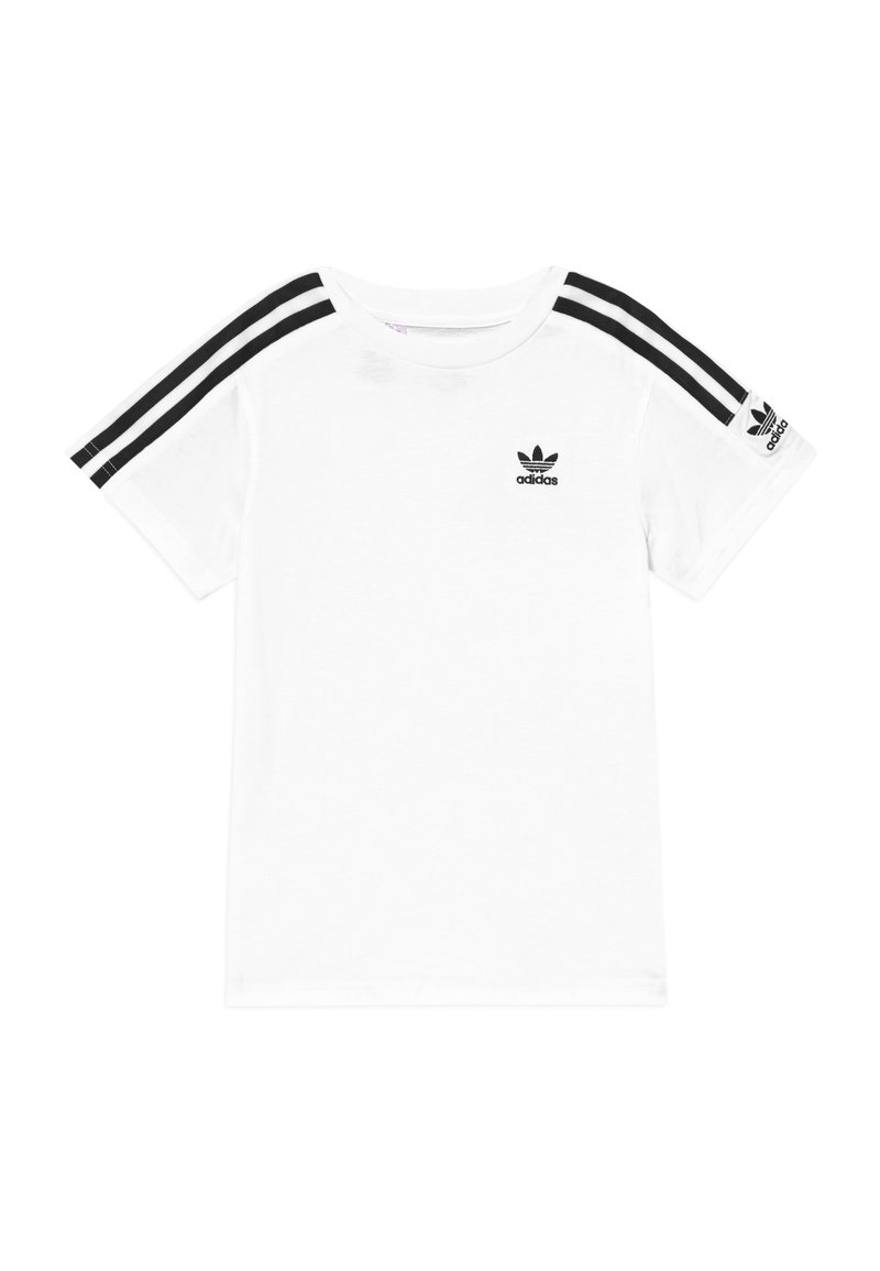 adidas Originals - NEW ICON  - T-shirt imprimé - white/black