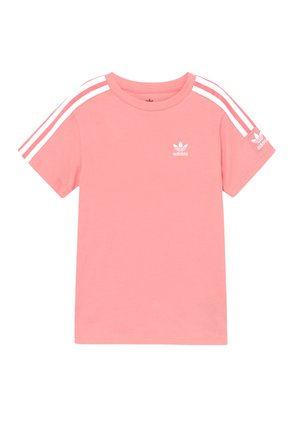 NEW ICON  - T-shirt imprimé - pink/white