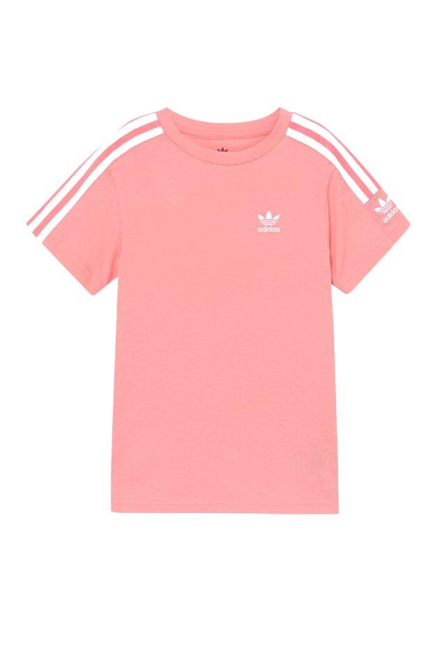NEW ICON  - Camiseta estampada - pink/white