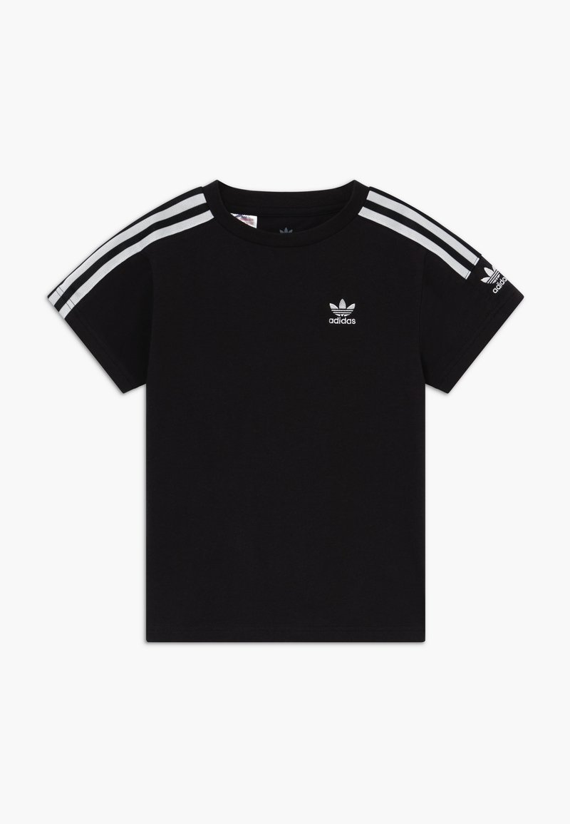 adidas Originals - NEW ICON  - Print T-shirt - black/white
