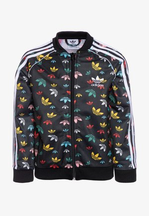 Training jacket - black/multicolor