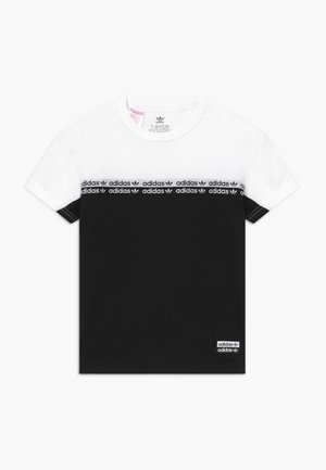 T-shirt print - black/white