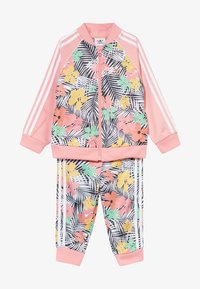 adidas Originals - SET - veste en sweat zippée - glow pink/multicolor - 5