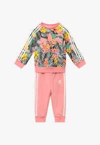 adidas Originals - CREW SET - Tracksuit - black/multi-coloured - 3
