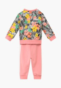 adidas Originals - CREW SET - Tracksuit - black/multi-coloured - 1