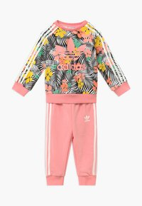 adidas Originals - CREW SET - Tracksuit - black/multi-coloured - 0