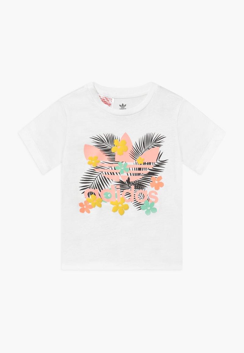 adidas Originals - TEE - Print T-shirt - white/multi-coloured