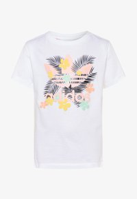 adidas Originals - TEE - Camiseta estampada - white/multicolor - 0
