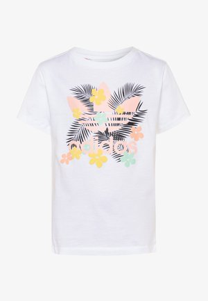 TEE - T-shirt con stampa - white/multicolor