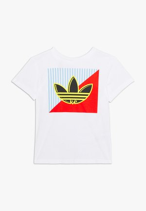 GRAPHIC TEE - T-shirt con stampa - white
