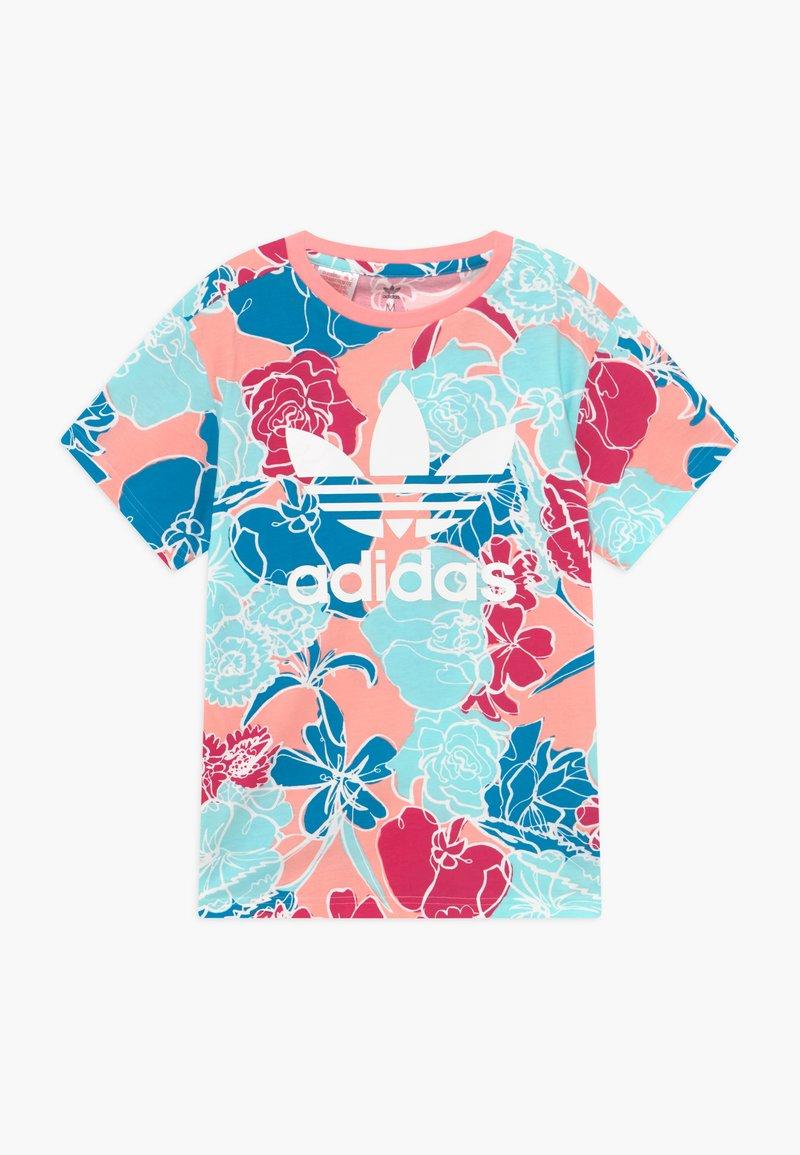 adidas Originals - TEE - T-shirt imprimé - pink