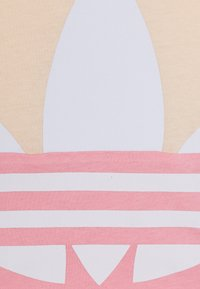 adidas Originals - BIG TREFOIL TEE  - T-shirt print - pink/white - 3
