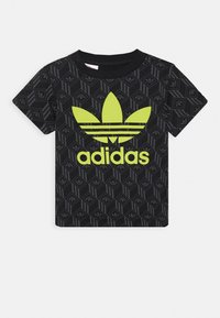 adidas Originals - TREF TEE - T-shirt print - black - 0