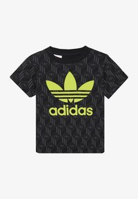 adidas Originals - TREF TEE - T-shirt print - black