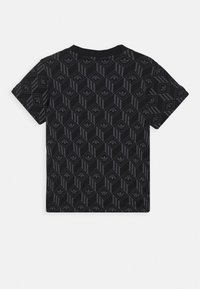 adidas Originals - TREF TEE - T-shirt print - black - 1