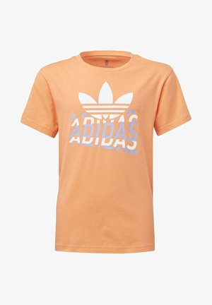 GRAPHIC T-SHIRT - T-shirt print - orange