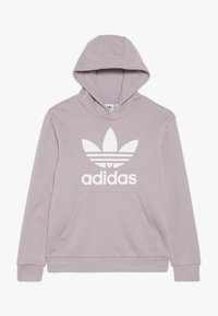 adidas Originals - TREFOIL HOODIE - Huppari - sofvis/white - 0