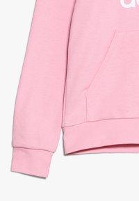 adidas Originals - TREFOIL HOODIE - Mikina skapucí - light pink/white - 2