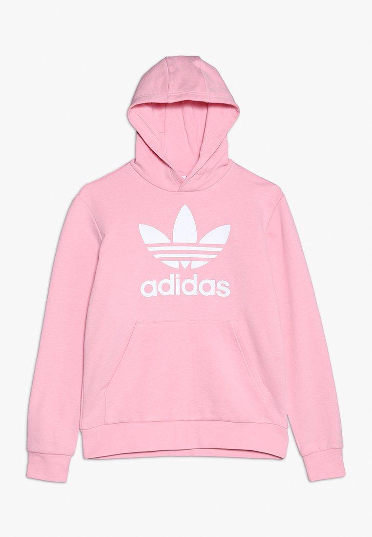 adidas Originals - TREFOIL HOODIE - Hoodie - light pink/white