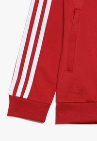 adidas Originals - SUPERSTAR - Treningsjakke - scarlet/white - 2