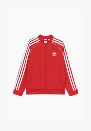 SUPERSTAR - Veste de survêtement - lusred/white