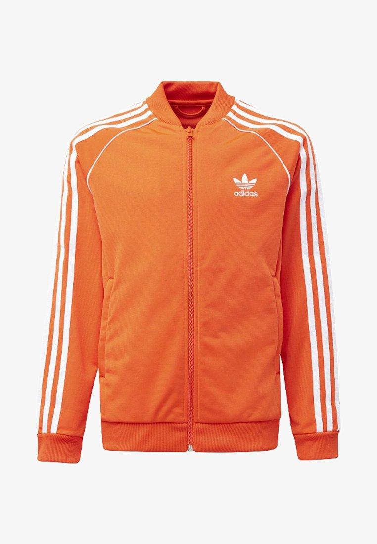 adidas Originals - SUPERSTAR - Sportovní bunda - orange