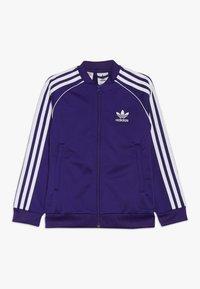 adidas Originals - SUPERSTAR - Sportovní bunda - purple/white - 0