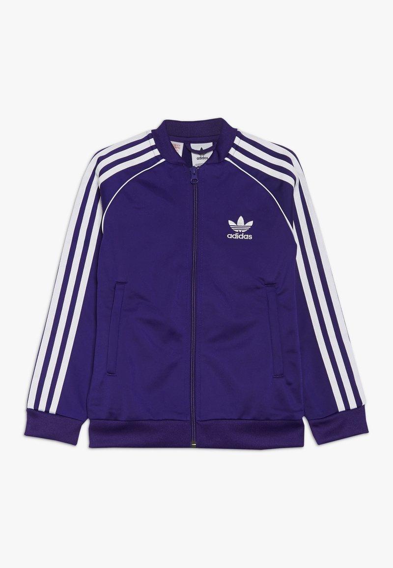 adidas Originals - SUPERSTAR - Sportovní bunda - purple/white