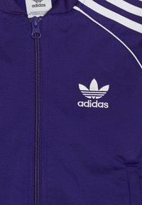 adidas Originals - SUPERSTAR - Sportovní bunda - purple/white - 4