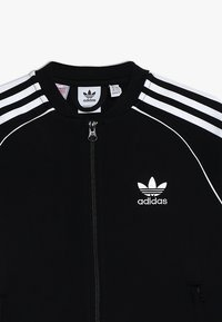 adidas Originals - SUPERSTAR - Sportovní bunda - black/white - 4