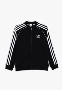 adidas Originals - SUPERSTAR - Sportovní bunda - black/white - 0