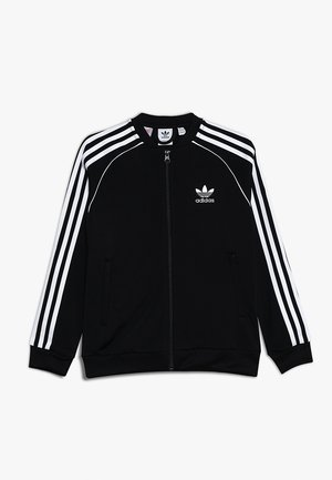 SUPERSTAR - Veste de survêtement - black/white