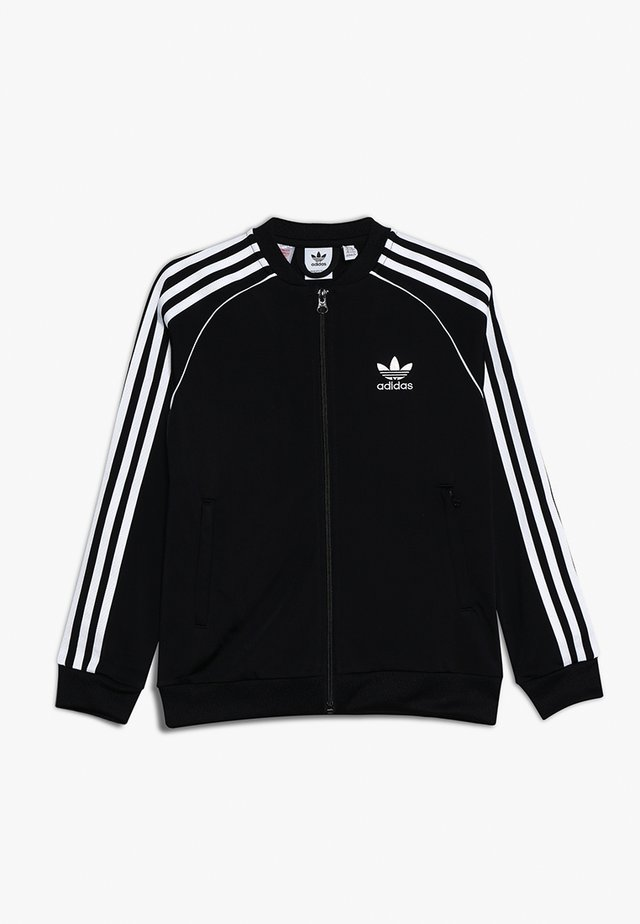 SUPERSTAR - Training jacket - black/white