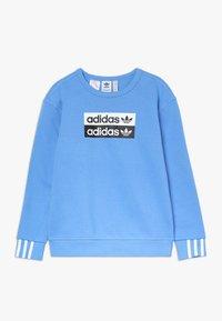 adidas Originals - V OCAL CREW - Mikina - blue - 0