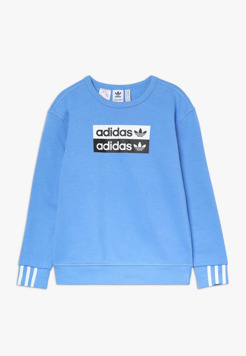 adidas Originals - V OCAL CREW - Mikina - blue