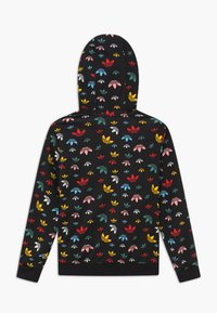 adidas Originals - HOODIE - Hoodie - black/multicolor/white - 1