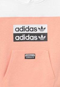 adidas Originals - HOODIE - Hoodie - pink/white - 3